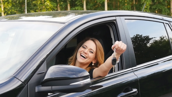 Chizheffsky Her Holding Woman New By Driving Driver Car Videohive Keys