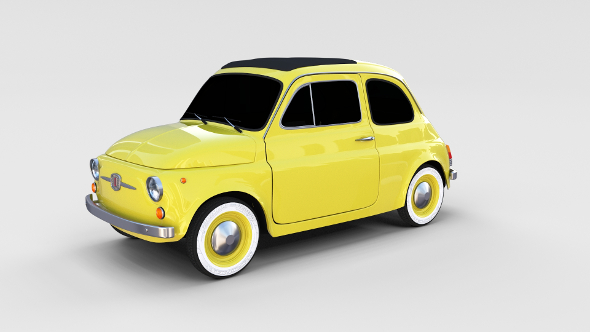 Fiat Nuova 500D 1960 rev - 3DOcean Item for Sale