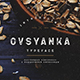 Ovsyanka Typeface - GraphicRiver Item for Sale