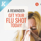 Flu Shot Campaign Flyer Templates - GraphicRiver Item for Sale