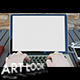 Typing On a Laptop in The First Person - VideoHive Item for Sale