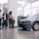 Seller Meets Family In a Car Showroom - VideoHive Item for Sale