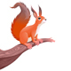 Funny Squirrel on Branch - GraphicRiver Item for Sale