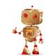 Robot Gesturing - GraphicRiver Item for Sale