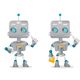 Two Robots Gesturing - GraphicRiver Item for Sale