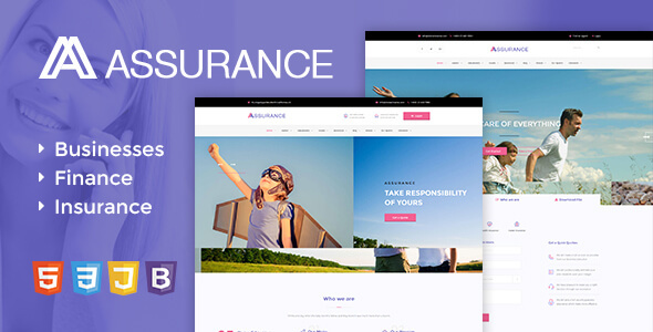 Assurance - Insurance HTML5 Responsive Site Template - Miscellaneous Specialty Pages
