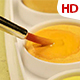 Acrylic Paint With Brush 01344 - VideoHive Item for Sale