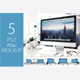 5 PSD Mock-up Mac - GraphicRiver Item for Sale