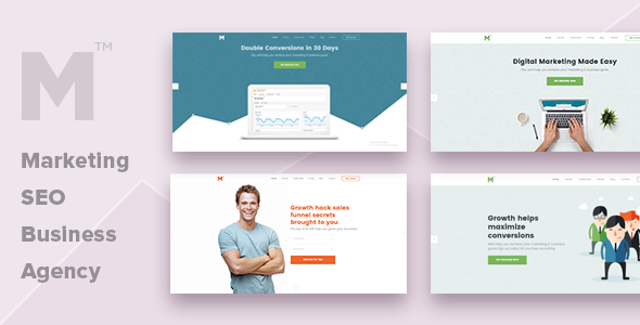 Marketing - Multipurpose Business, SEO, Agency Template
