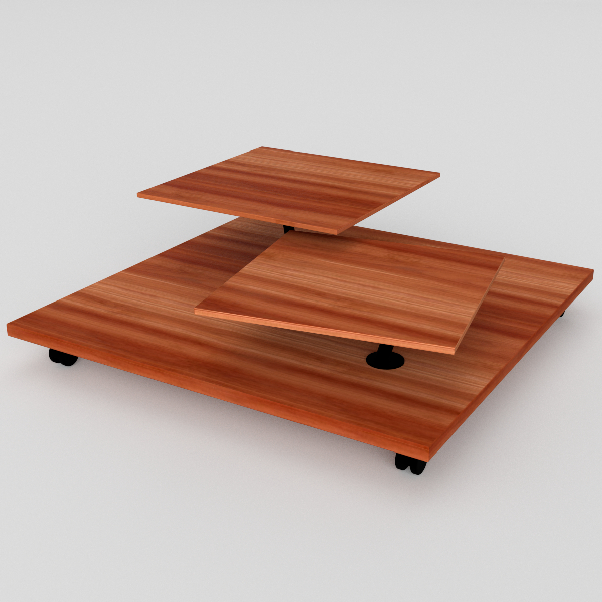 ... Wheeled Low Side Table 00 ...