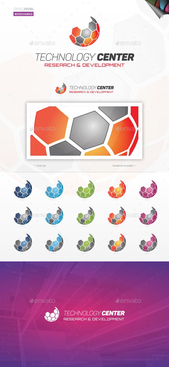 Technology Center Logo - Abstract Logo Templates