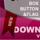 Download Box, Button and Flag - GraphicRiver Item for Sale