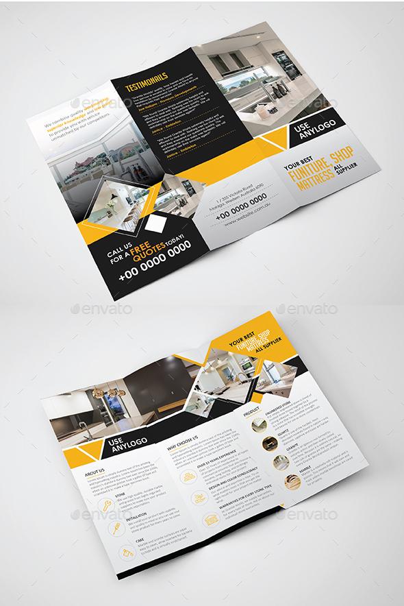 Tri fold Brochure  - Catalogs Brochures