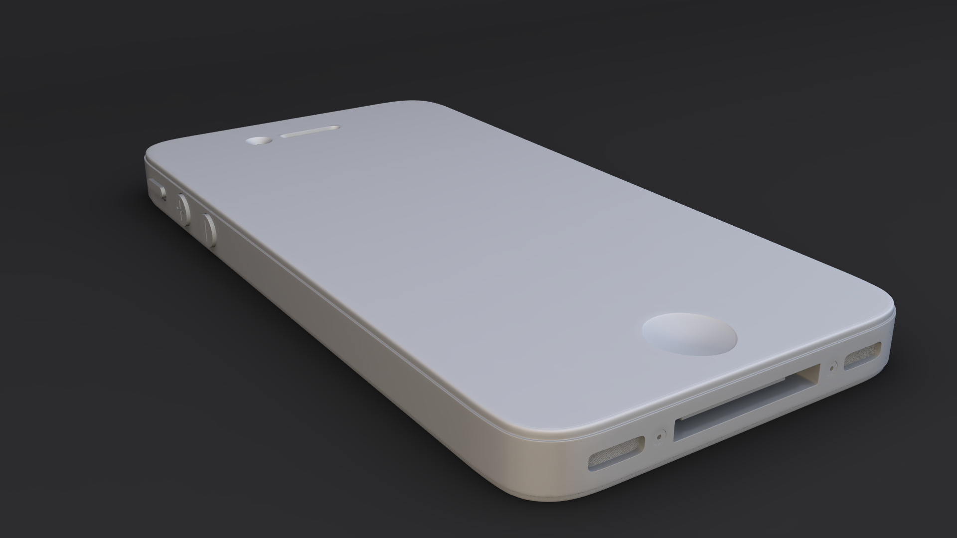 Iphone 4s Model By Ms825 3docean