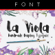 La Viola Typeface - GraphicRiver Item for Sale