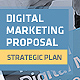 Clean Digital Marketing Proposal - GraphicRiver Item for Sale