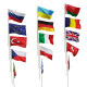 Flags of different countries. 15 items. 48 maps Nulled