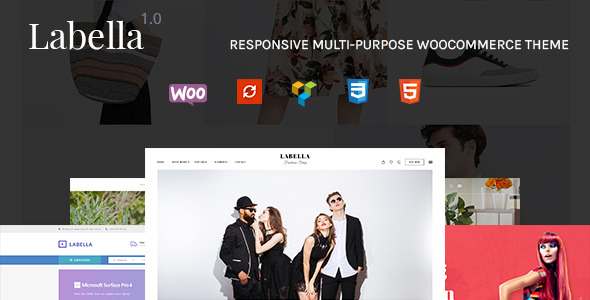 Labella – Responsive Multi Stylish & Demo eCommerce WordPress Theme
