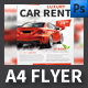 Car Rental Company Flyer Template - GraphicRiver Item for Sale