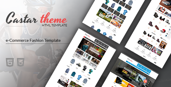 Castar - eCommerce HTML5 Template - Fashion Retail
