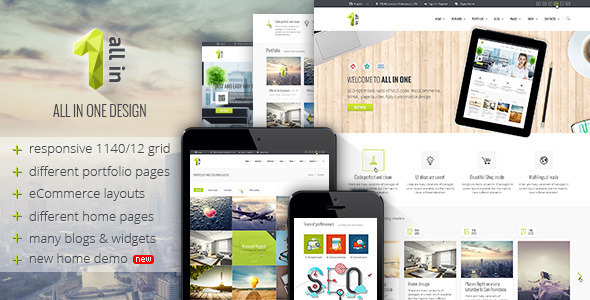 All In One – Multipurpose Business Shopify Theme