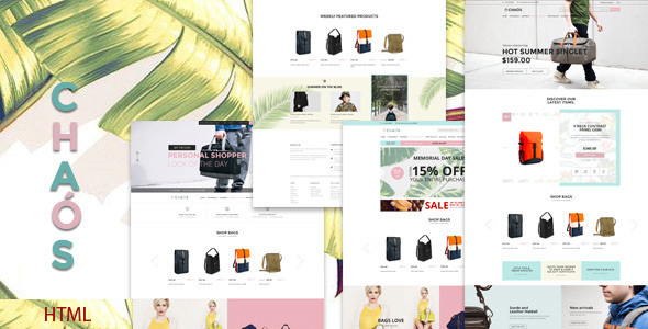 Chaos - eCommerce Bootstrap Template - Shopping Retail