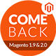 Comeback - Magento 1.9 & Magento 2.1.0 for Electronic,Market media,Audio,Perfume,Jewellery(20 Store) - ThemeForest Item for Sale