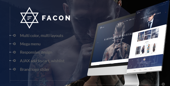 Image of Facon - Fashion Responsive Prestashop Theme