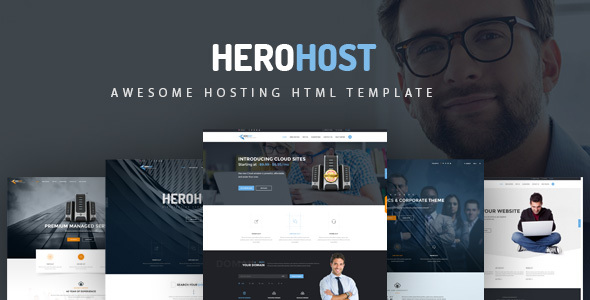HeroHost - Web Hosting HTML5 Template - Hosting Technology