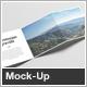 Square Z-Fold Brochure Mock-Up - GraphicRiver Item for Sale