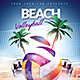 Beach Volleyball Event - GraphicRiver Item for Sale