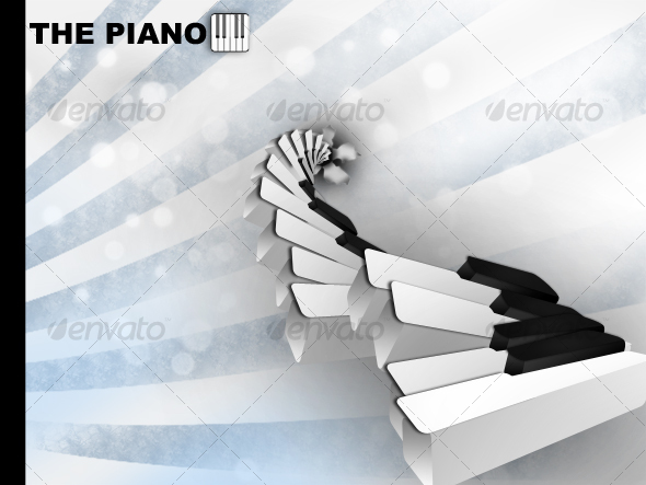 The Piano - Objects Illustrations