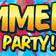 Summer Party / Nightclub Poster - GraphicRiver Item for Sale