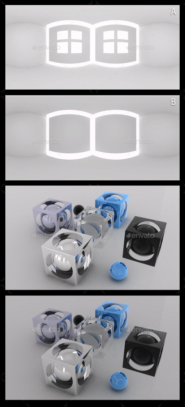 Studio Light 1 - HDRI - 3DOcean Item for Sale