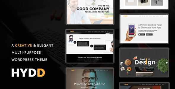 Hydd – Creative Multi-Purpose WordPress Theme