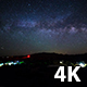 Milky Way and Campground - VideoHive Item for Sale