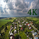 Aerial Neighborhood in Summer Day - VideoHive Item for Sale