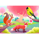 Fantasy Natural Scenery with Animals - GraphicRiver Item for Sale