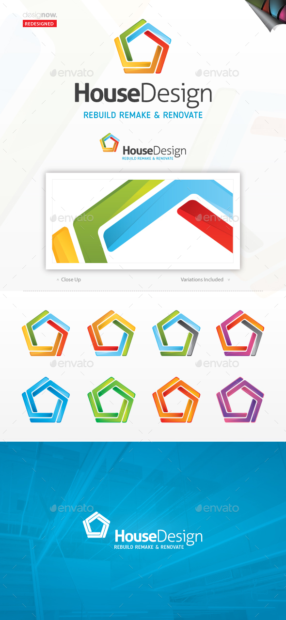 House Design Logo - Symbols Logo Templates