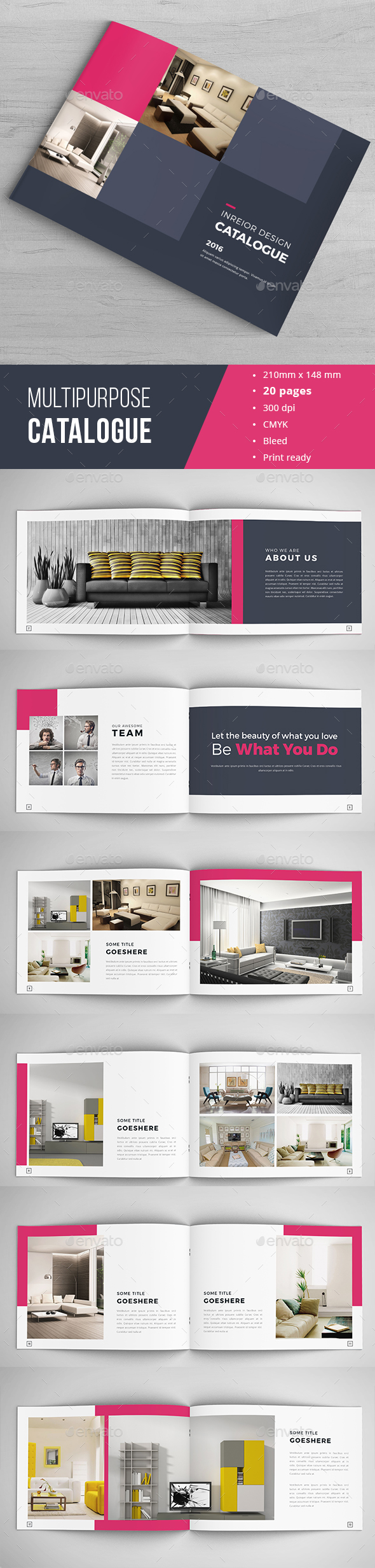 Catalog Template Indesign Free Download Images - Template Design Ideas