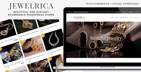 Jewelrica - eCommerce WordPress Theme - WooCommerce eCommerce