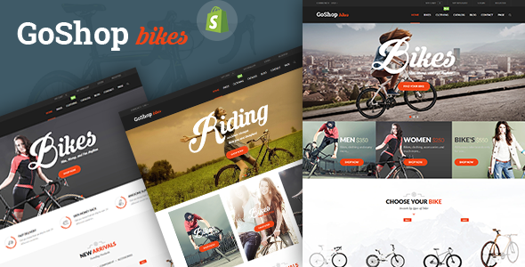 SP GoShop – Bike Store Responsive Shopify Theme