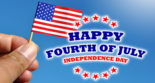 Happy Fourth of July - Independence Day USA