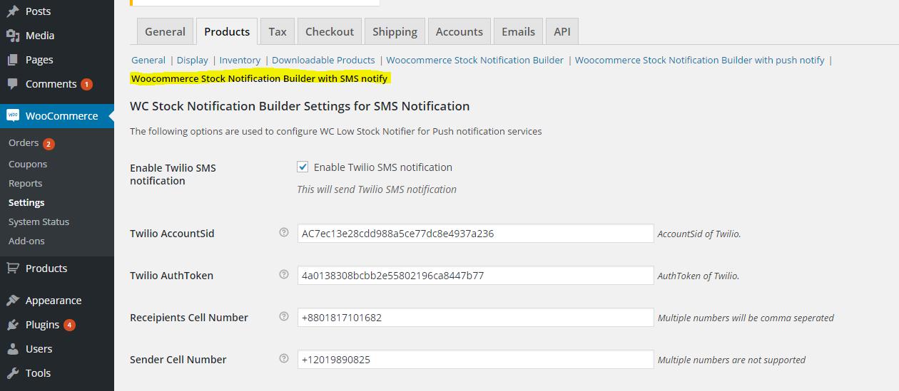 Woocommerce Stock Notification Builder - Sends desktop, mobile & email  notifications