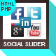 Facebook Likebox/Twitter Slider - CodeCanyon Item for Sale