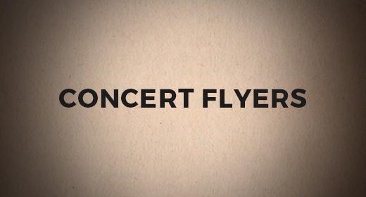 Premium Concert Flyers