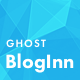 BlogInn - Bold Theme for Ghost - ThemeForest Item for Sale