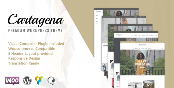 Cartagena – Urban Fashion Woocommerce Theme