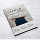 Vider Minimal Magazine - GraphicRiver Item for Sale