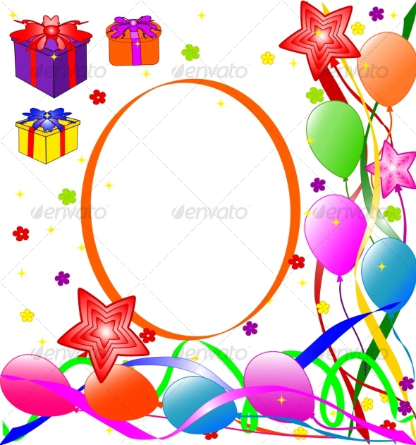 Happy Birthday background by trinochka | GraphicRiver